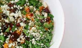 Summer Salad with Apricot Vinaigrette