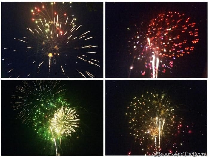 Dollywood Pigeon Forge fireworks Beauty and the Beets