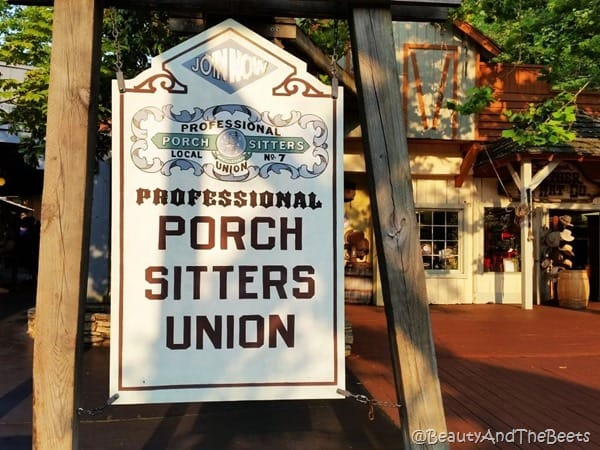 Porch Sitters Union Dollywood Beauty and the Beets