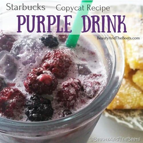 Starbucks Copycat Recipe Purple Drink Beauty and the Beets (1)