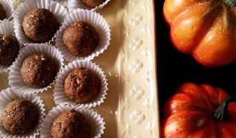 Pumpkin Spice Latte Bites #SundaySupper