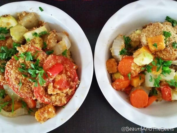Roasted Tomato Vegetable Casserole Beauty and the Beets 12