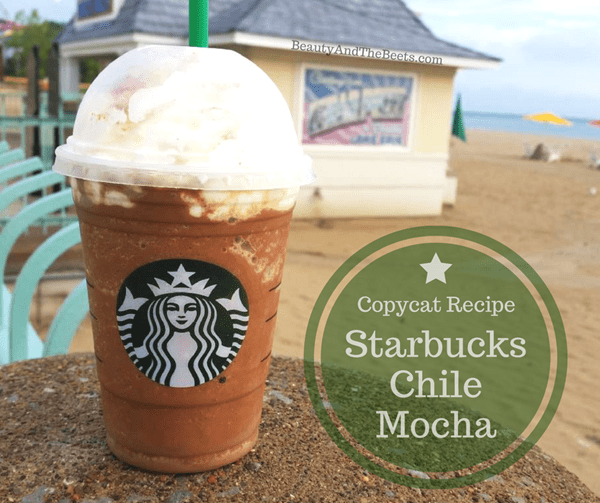 Beauty and the Beets copycat recipe Starbucks Chile Mocha