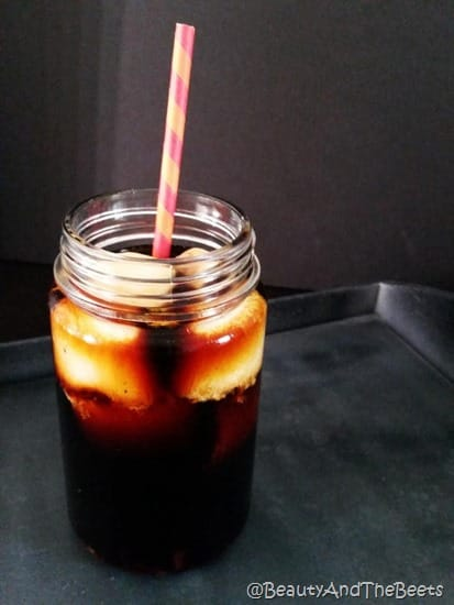 Make at home Cold Brew Beauty and the Beets