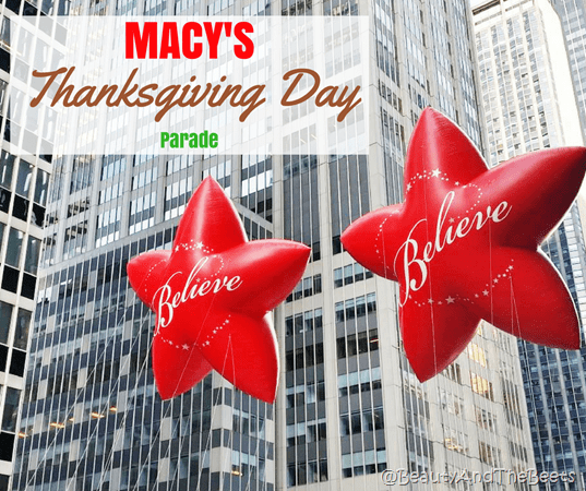 MACY'S Thanksgiving Day Parade Beauty and the Beets
