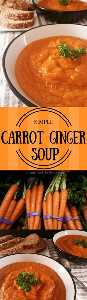 Carrot Ginger Soup by Beauty and the Beets (1)