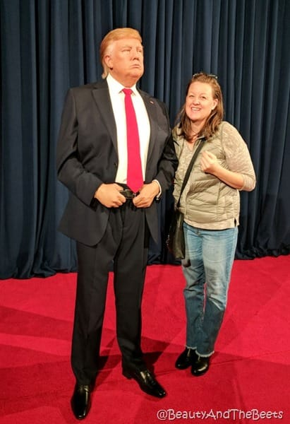Donald Trump Beauty and the Beets Madame Tussauds Orlando
