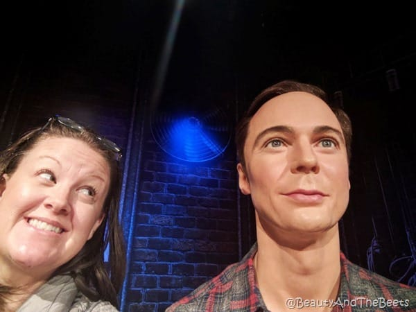 Jim Parsons Madame Tussauds Orlando Beauty and the Beets