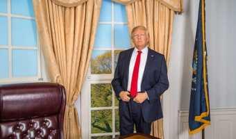 Trump Debuts at Madame Tussauds Orlando