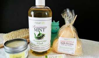 Nourish Natural Bath Products Giveaway