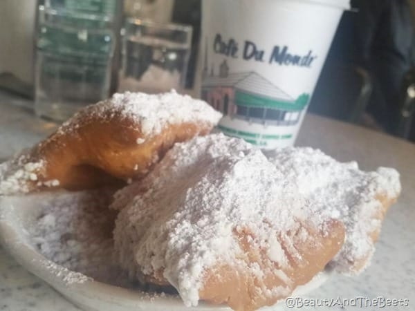 Beignet Cafe du Monde Beauty and the Beets
