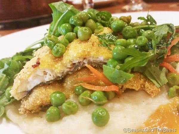 Cornmeal Trout Dobyn's at College of the Ozarks Beauty and the Beets