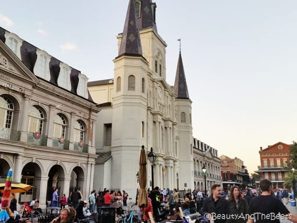 Jackson Square New Orleans Beauty and the Beets