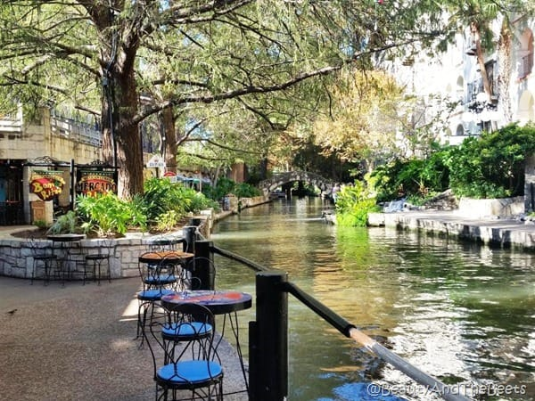San Antonio Riverwalk Beauty and the Beets