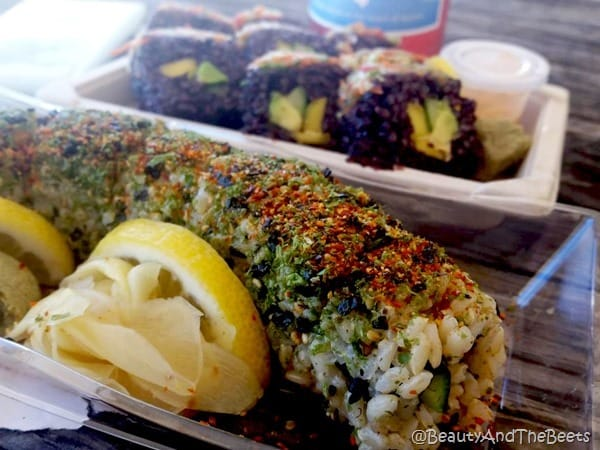 Whole Foods Austin sushi rolls Beauty and the Beets