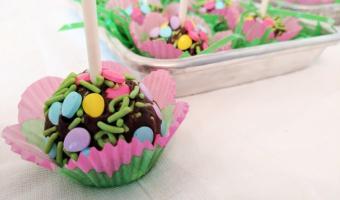Easter Truffle Pops