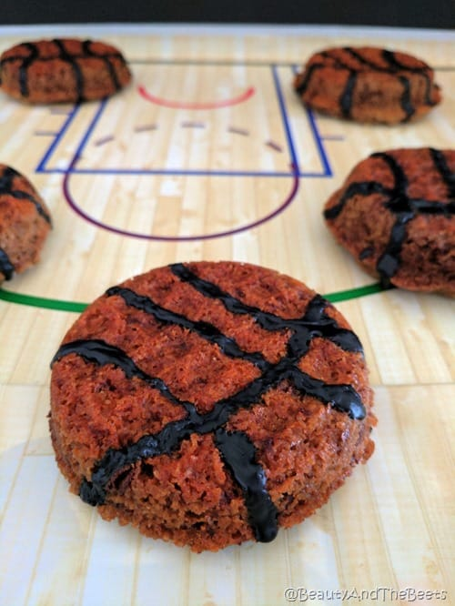 Foodstirs Basketball Cookies Beauty and the Beets (7)