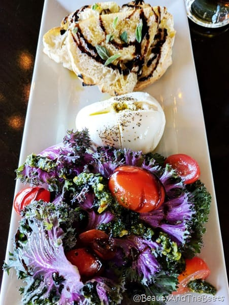Purple Kale Burrata Midici Neapolitan Pizza Beauty and the Beets