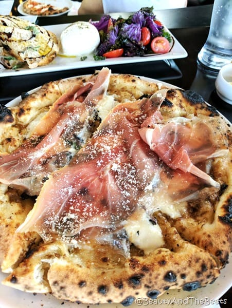 TRUFFLE & PROSCIUTTO PIZZA Midici Neapolitan Pizza Beauty and the Beets