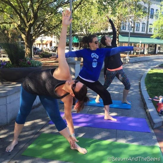Yoga on the Square Publix Savannah Womens Half Beauty and the Beets