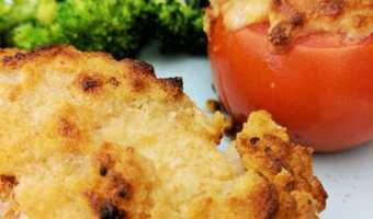 Easy Parmesan Crusted Salmon
