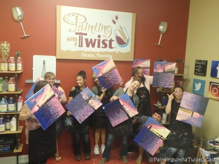 Painting with a Twist Ocala Beauty and the Beets (1)