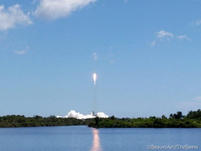 #SpaceX CRS12 NASA Kennedy Space Center launch Beauty and the Beets