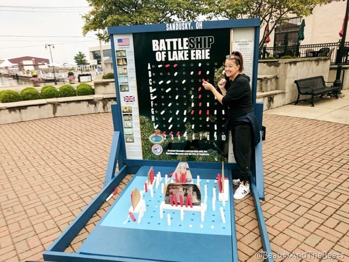 Battleship of Lake Erie Sandusky Beauty and the Beets