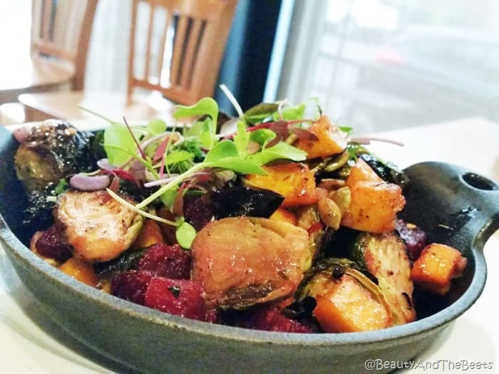 Brussels and Beets Zinc Brasserie Sandusky Beauty and the Beets