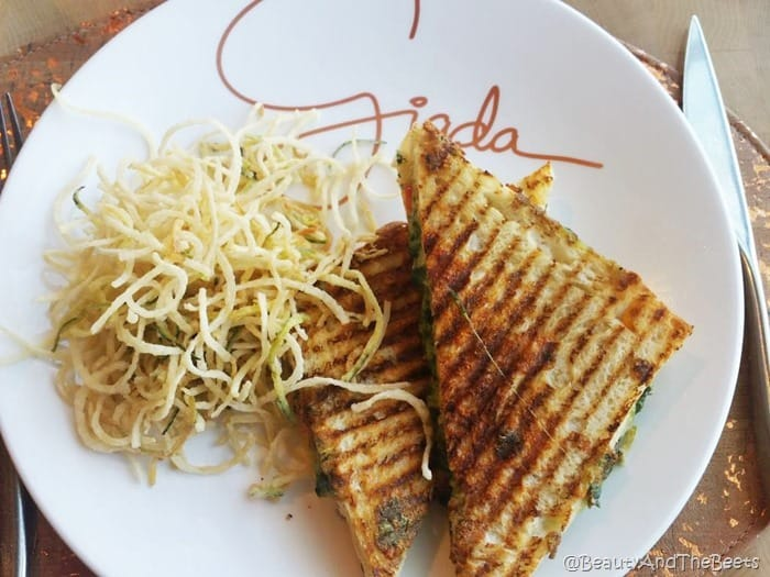 Lemon Pesto Grilled Cheese Giada Las Vegas Beauty and the Beets