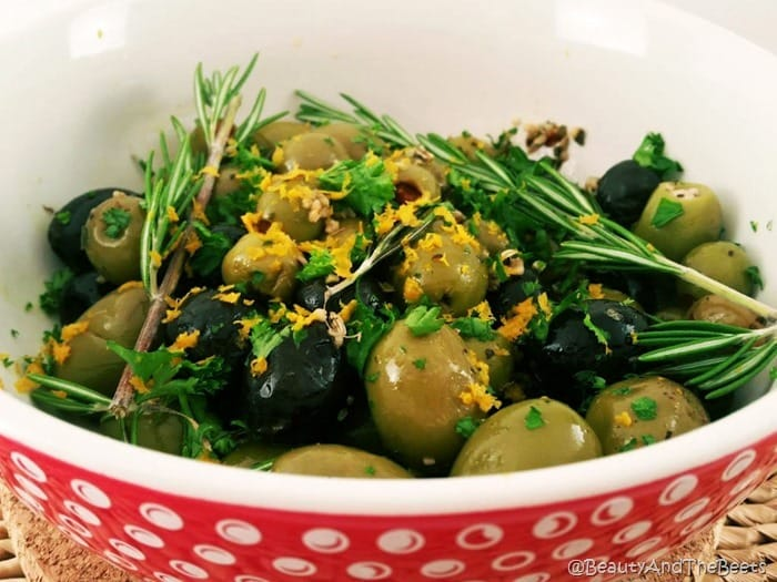 Roasted Olives bowl Beauty and the Beets 1