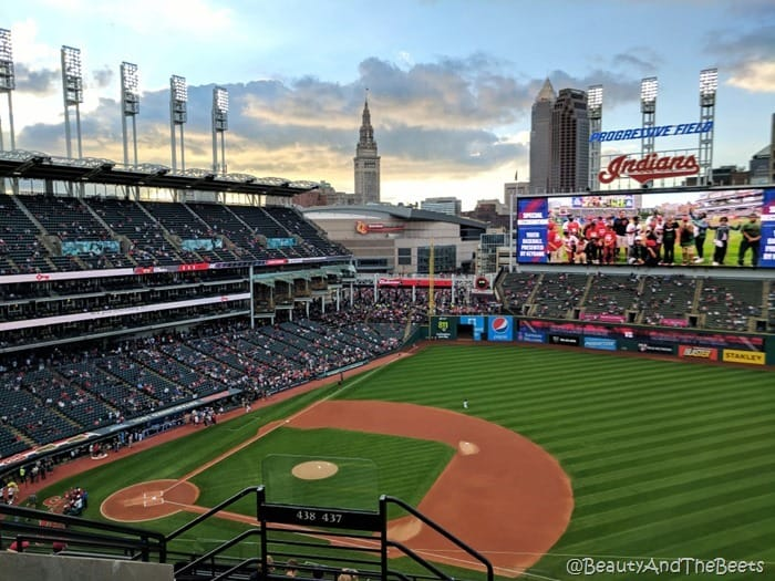 Terminal Tower Progressive Field Beauty and the Beets