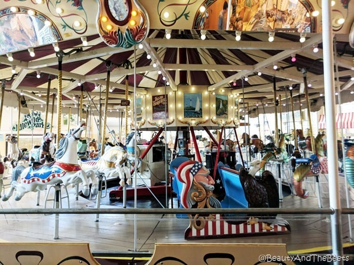 carousel Merry Go Round Museum Sandusky Beauty and the Beets