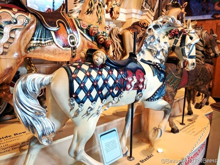 cherub horse Merry Go Round Museum Sandusky Beauty and the Beets