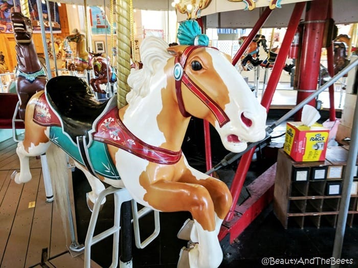 featherhead horse Merry Go Round Museum Sandusky Beauty and the Beets