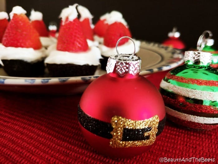 Brownie Santa Hats Beauty and the Beets (3)