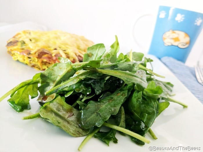 Mushroom Asparagus and Parmesan Egg Tart by Beauty and the Beets (7)