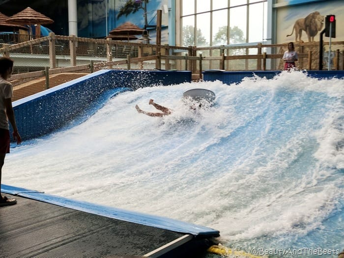 wipeout Flow Rider Kalahari Resort Sandusky Beauty and the Beets