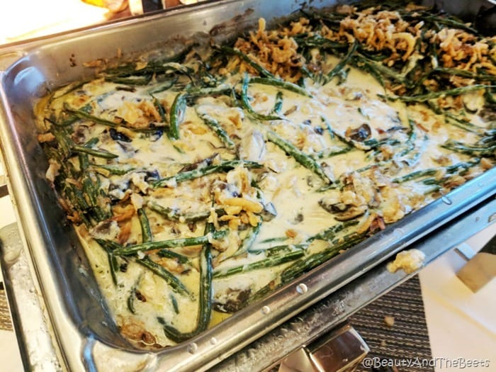 green bean casserole Sea Pines Resort Thanksgiving Beauty and the Beets