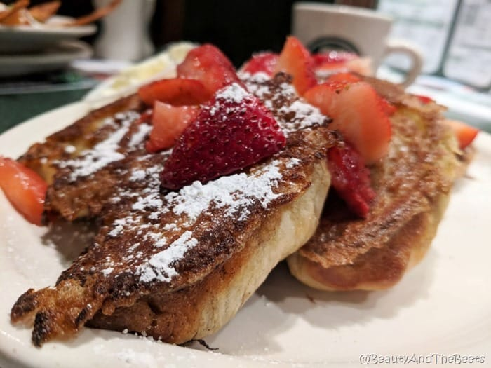 French Toast Metro Diner Beauty and the Beets