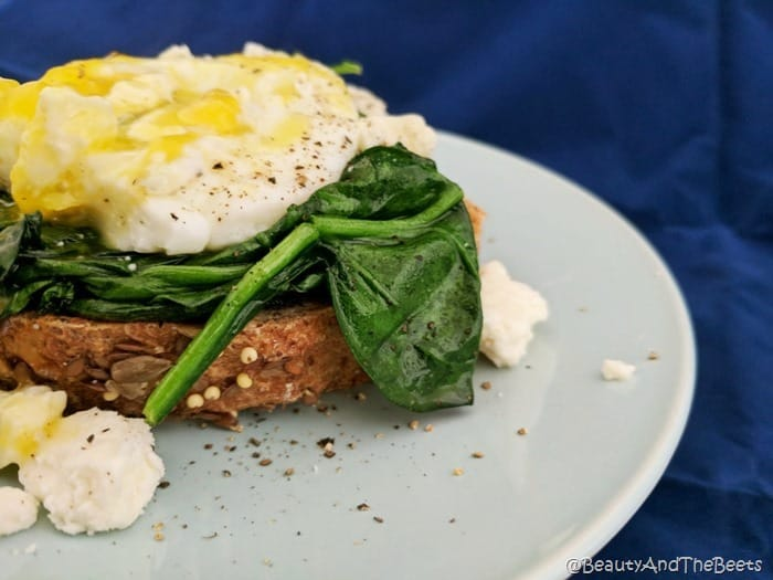 Spinach, Egg, and Feta Toast Beauty and the Beets (9)