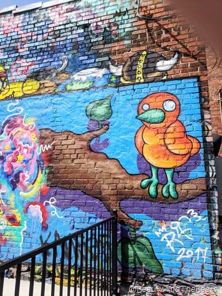 Artist Alley Orange Bird Kansas City Beauty and the Beets