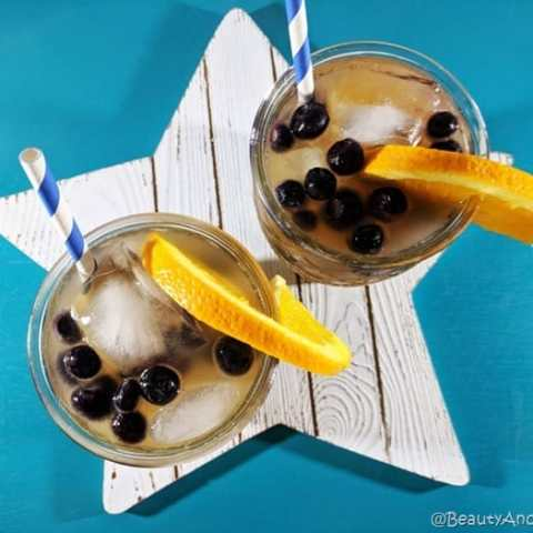 Orange Vanilla Spritzer