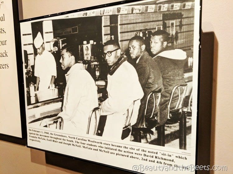 Greensboro Four Birmingham Civil Rights Institiute Beauty and the Beets