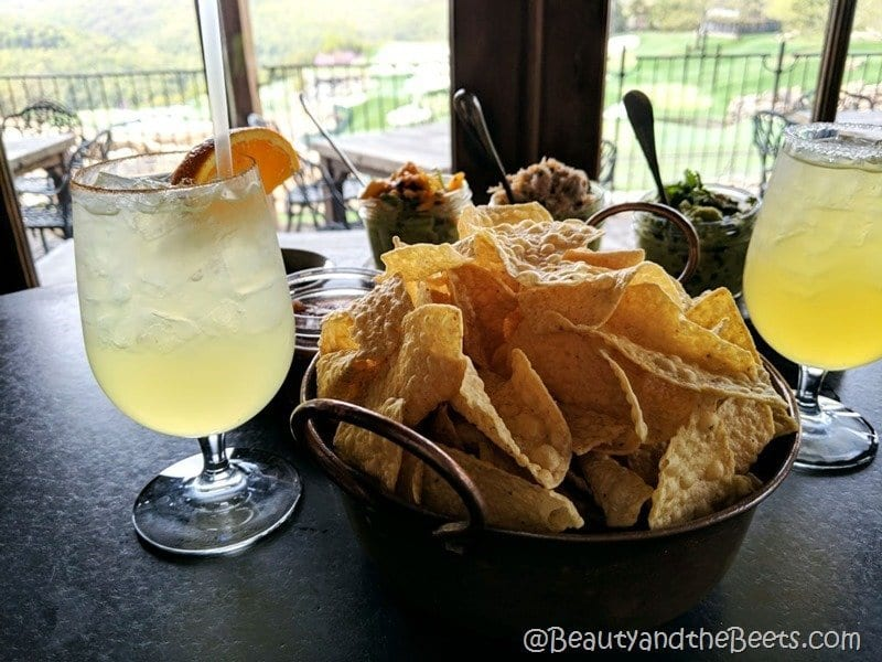 Arnie's Barn chips and margaritas Beauty and the Beets