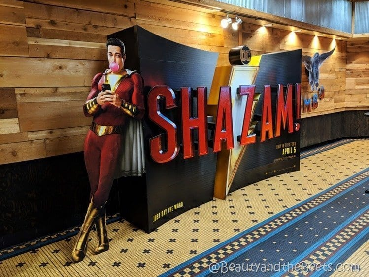 Shazam Branson IMAX Theater Beauty and the Beets