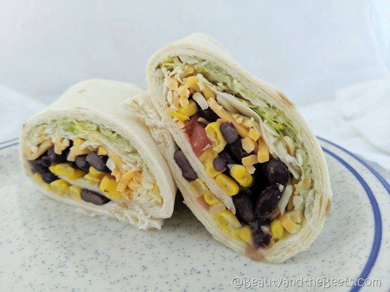 Beauty and the Beets Chick Fil A Vegetarian Wrap