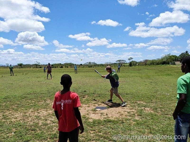 Discovery Church Orlando Dominican Republic mission trip baseball game Beauty and the Beets