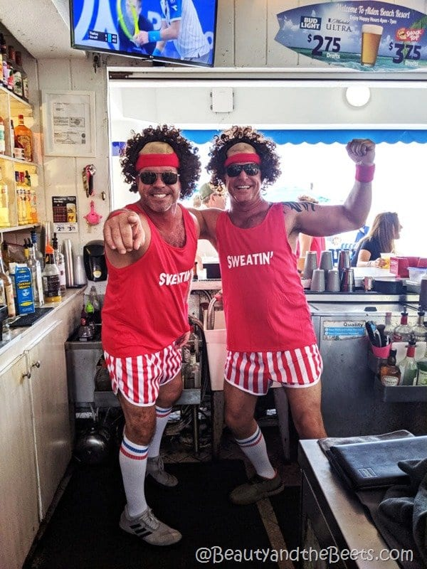 Richard Simmons at Alden Suites Beauty and the Beets