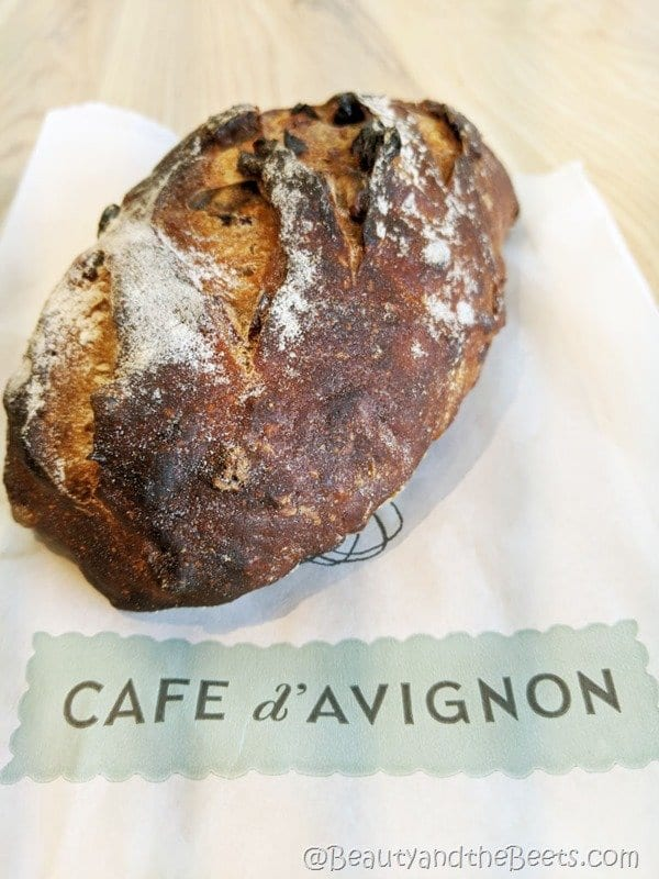 Cranberry Pecan bread Cafe D'avignon Beauty and the Beets